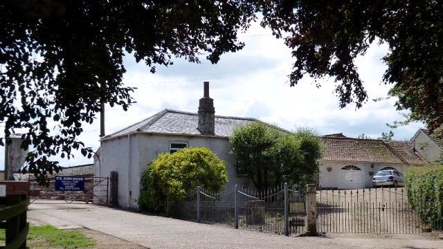 Burstwick Castle site