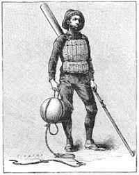 cork lifebelt, 1860s