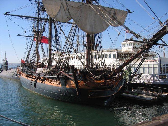 HMS Rose replica
