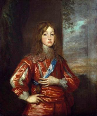 James Duke of York aged 12
