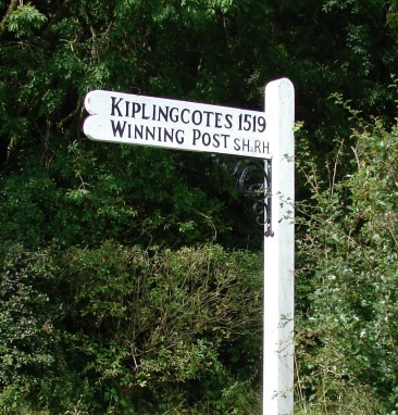 East Yorkshire monuments - the country's oldest horse race at Kiplingcotes. The winner's prize is worth less than 2nd prize.