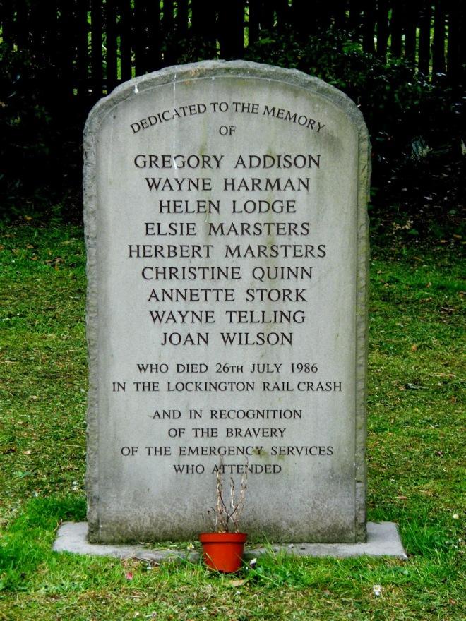lockington crash memorial