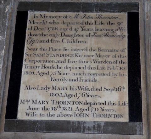 Saml Standidge memorial