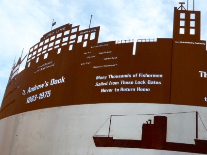 St Andrews Dock memorial